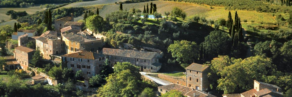 Cover Il Borgo di Lucignanello Bandini