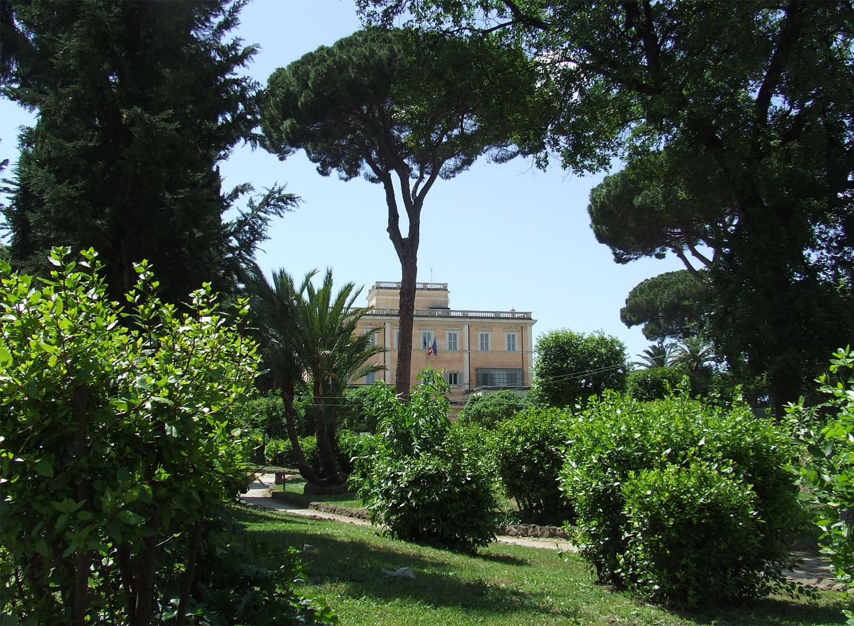 Cover Parco di Villa Mattei Celimontana