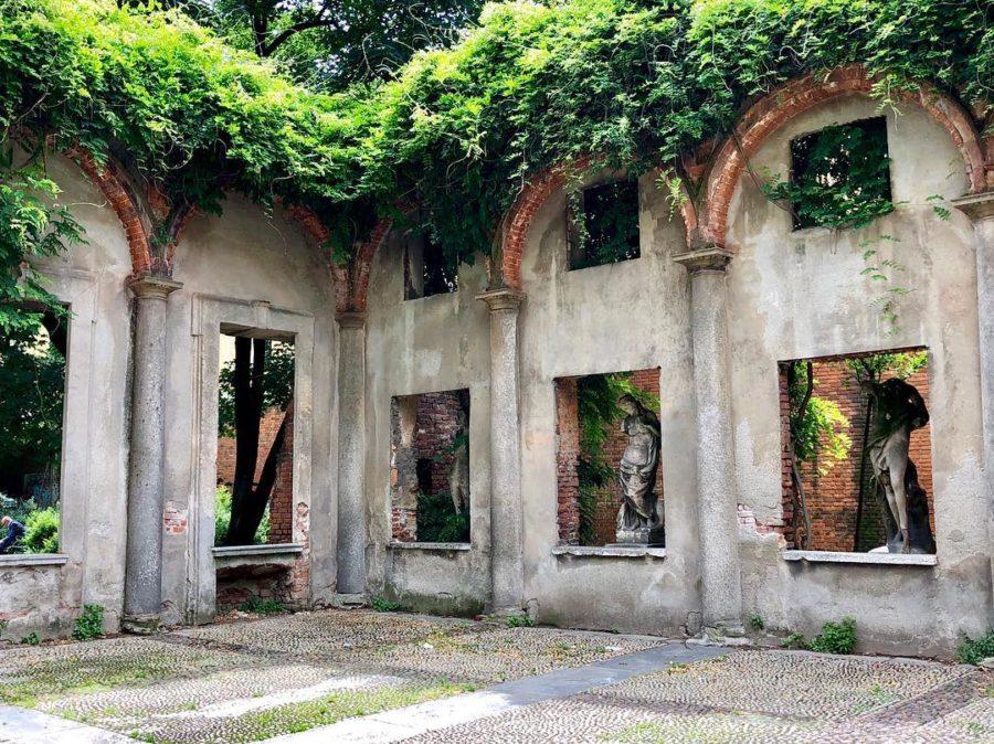 Cover Giardino di via S. Agnese