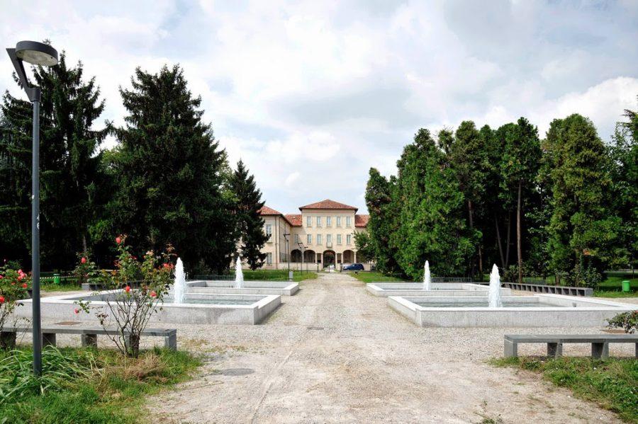 Cover Il parco di villa Scheibler