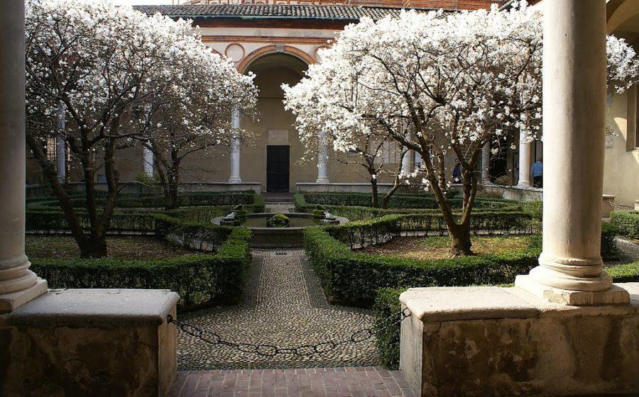 Cover Chiostro delle magnolie – S. Maria delle Grazie