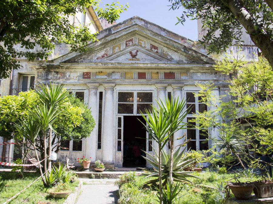 Cover Giardino pensile Palazzo Venezia