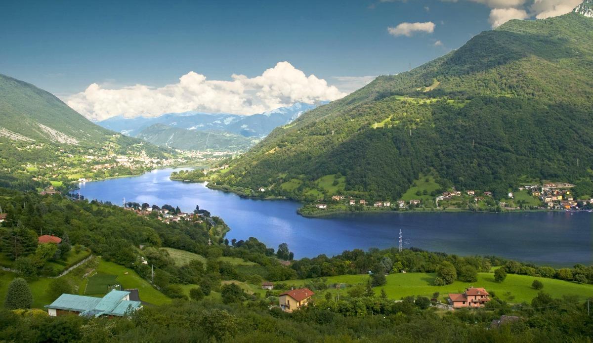 Cover Lago d'Èndine e Lago di Gaiano.