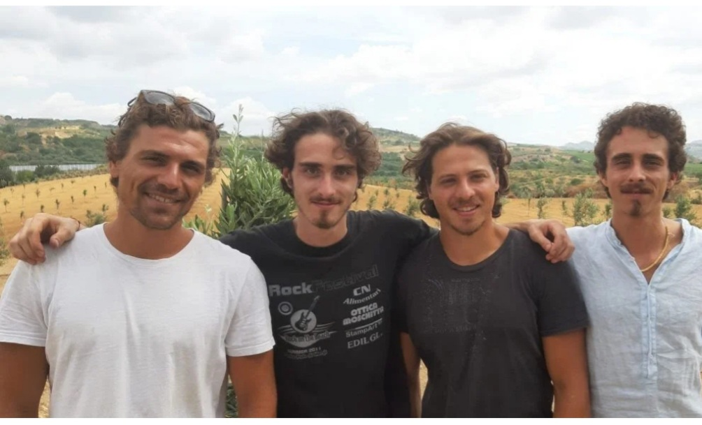 Federico, Giulio, Lorenzo, Francesco Parisi Asaro
