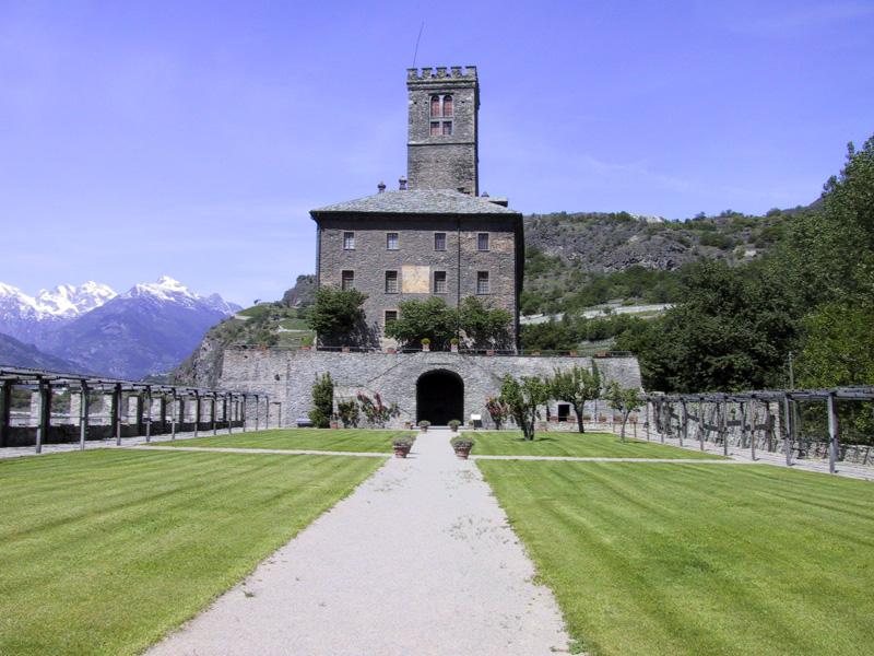Cover Castello Reale di Sarre