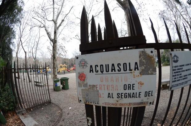 Cover Parco pubblico dell'Acquasola