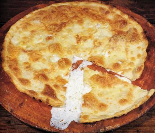 Cover Focaccia al formaggio di Recco