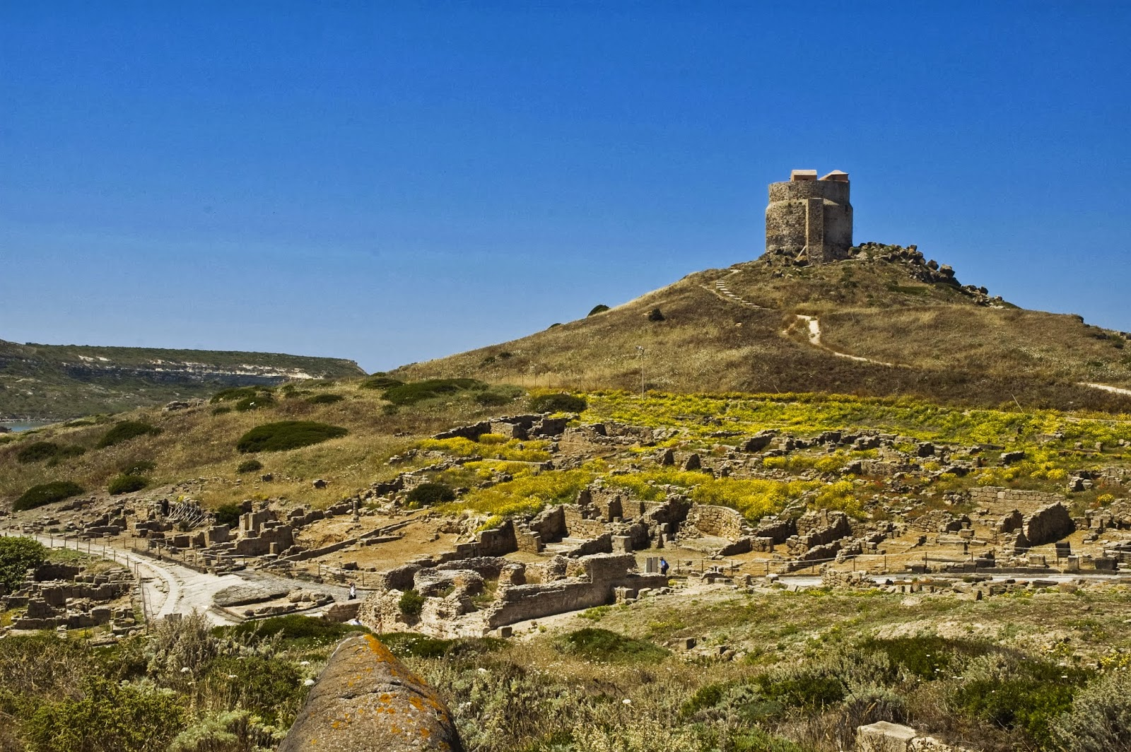 Cover Sito archeologico di Tharros