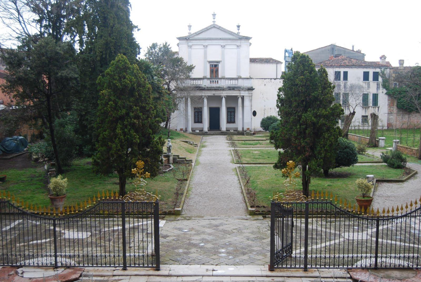 Cover Giardino di Ca' Zenobio degli Armeni