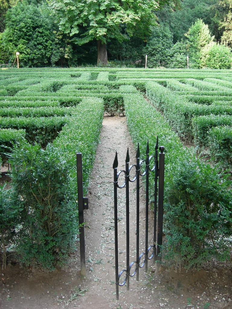 Cover Giardino di Villa Giusti