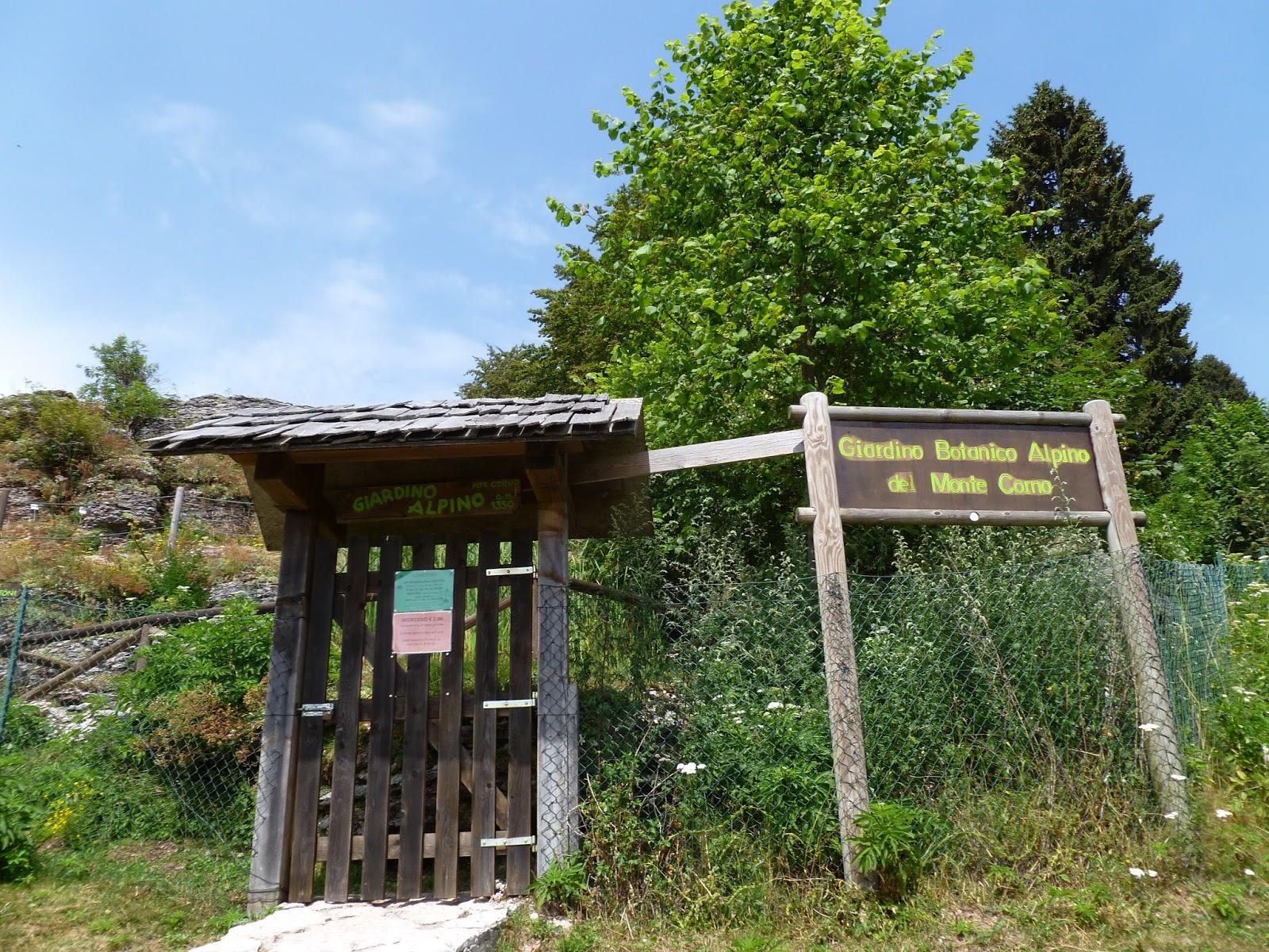Cover Giardino botanico alpino di Monte Corno