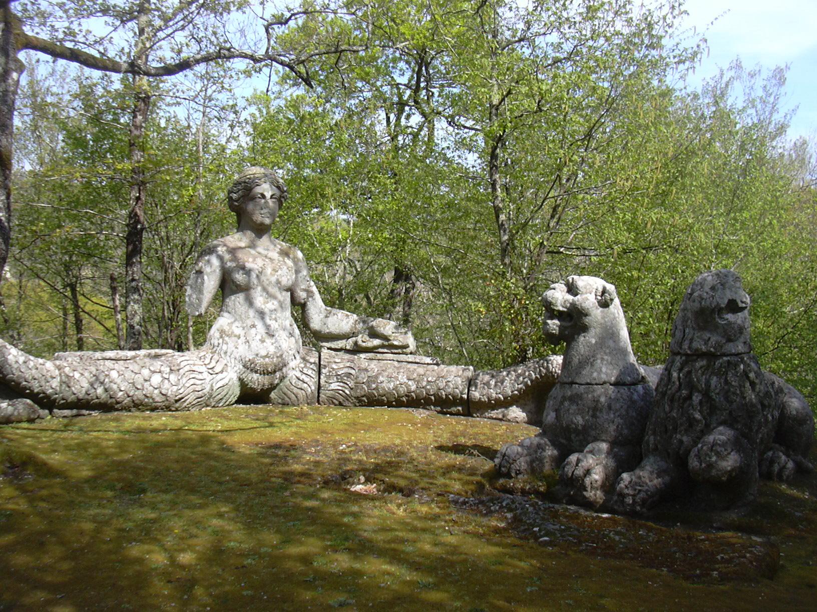 bomarzo-park-sirene