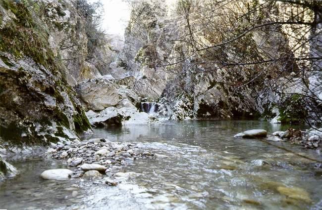 Cover Gole del torrente Quirino