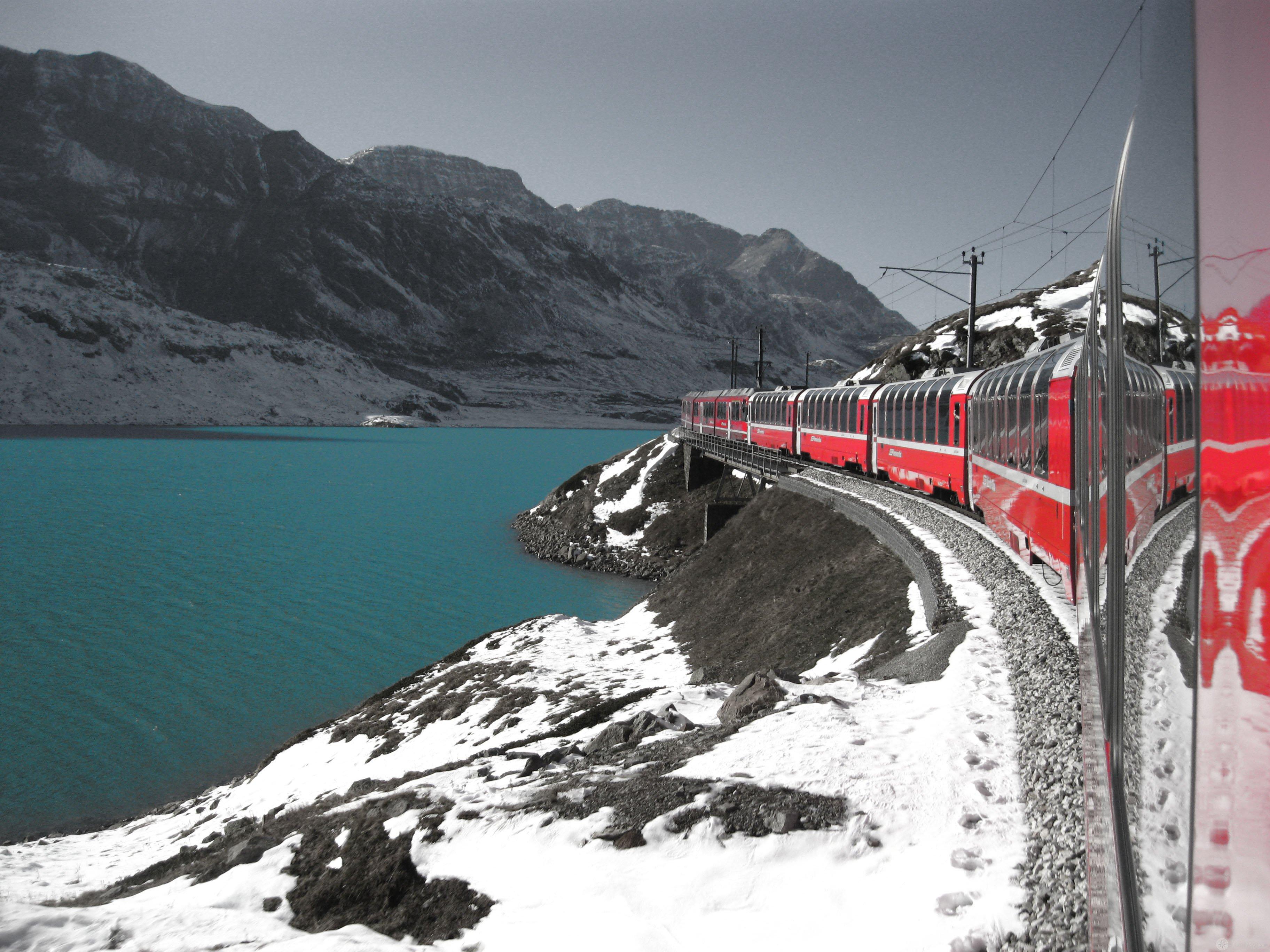 Cover Trenino rosso del Bernina