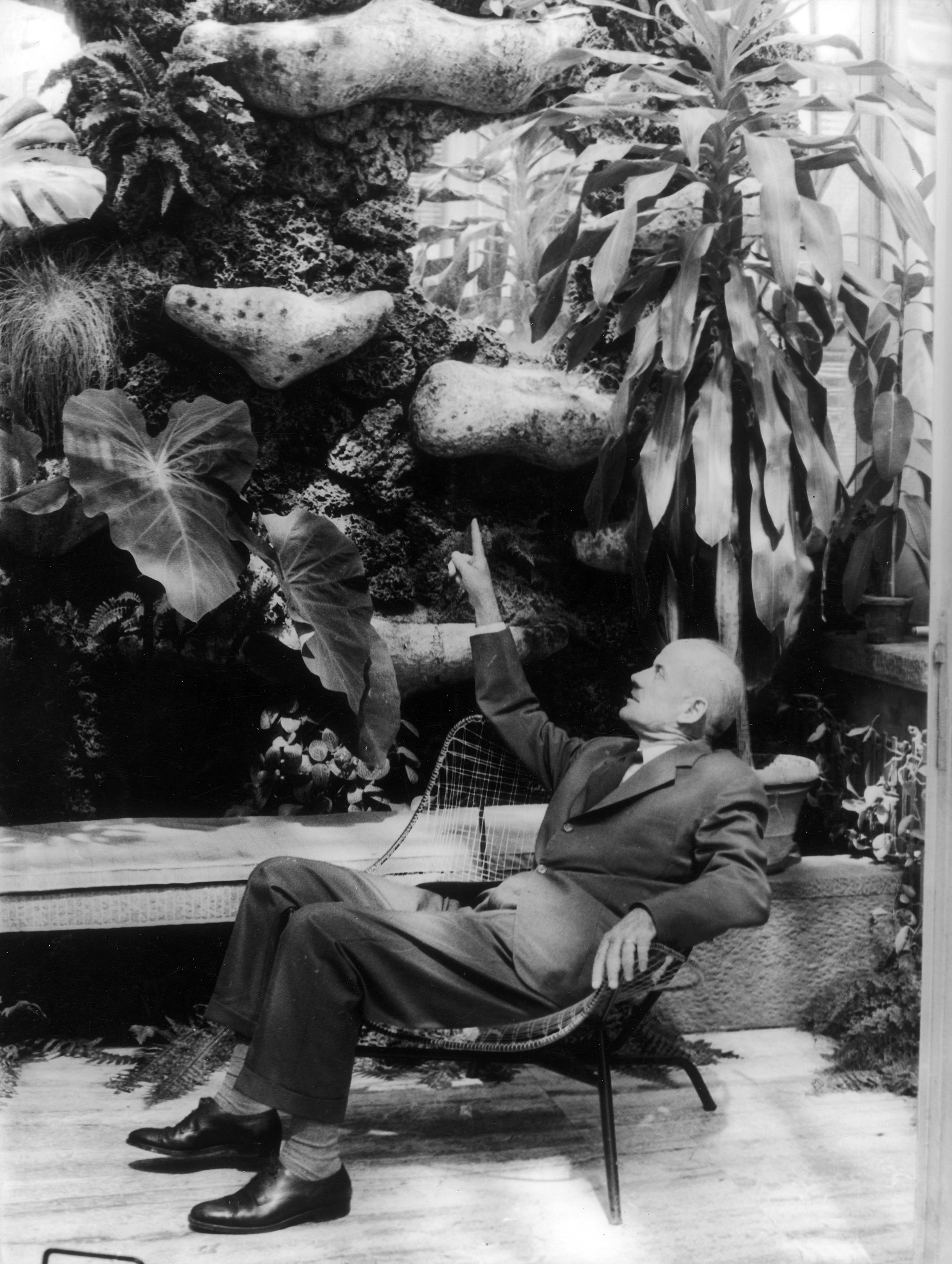 Giardino di villa ca 39 gianin luoghi italianbotanicaltrips for Pietro porcinai