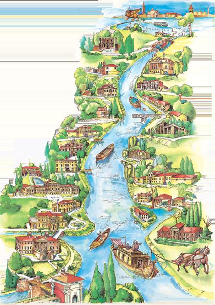 Cover Ville lungo il Brenta – giro del Burchiello