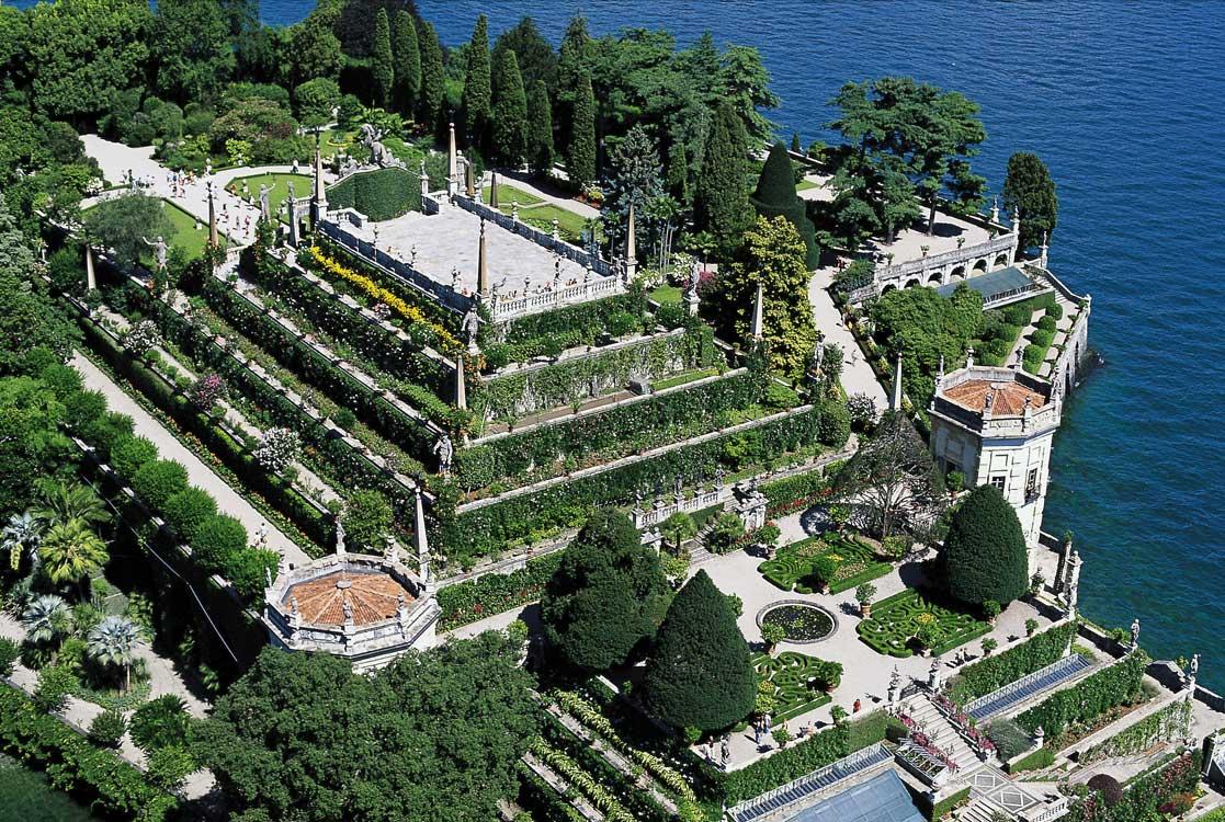 Isola bella palazzo borromeo luoghi italianbotanicaltrips - Foto giardini ville ...