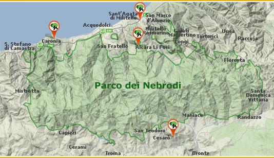 Cover Parco dei Nebrodi